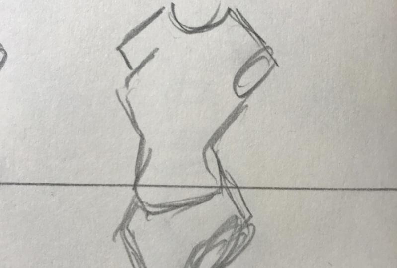 Female Body sketching
