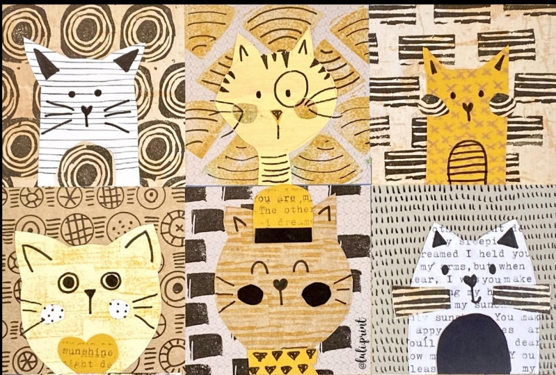 Cats Collage