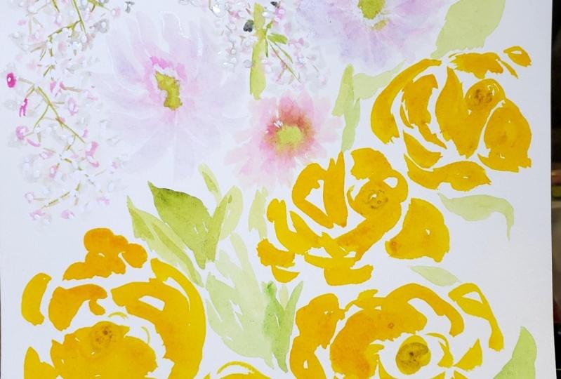 Dreamy Watercolor Floral