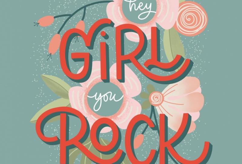 Method 1 - Hey girl you Rock.