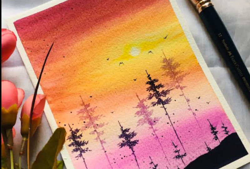 watercolour landscape essentials