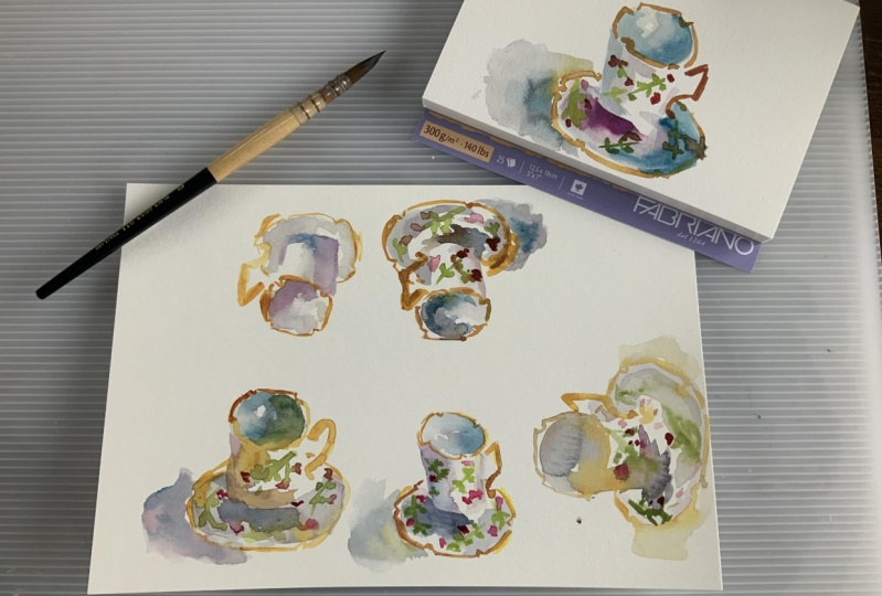 Watercolor Workout
