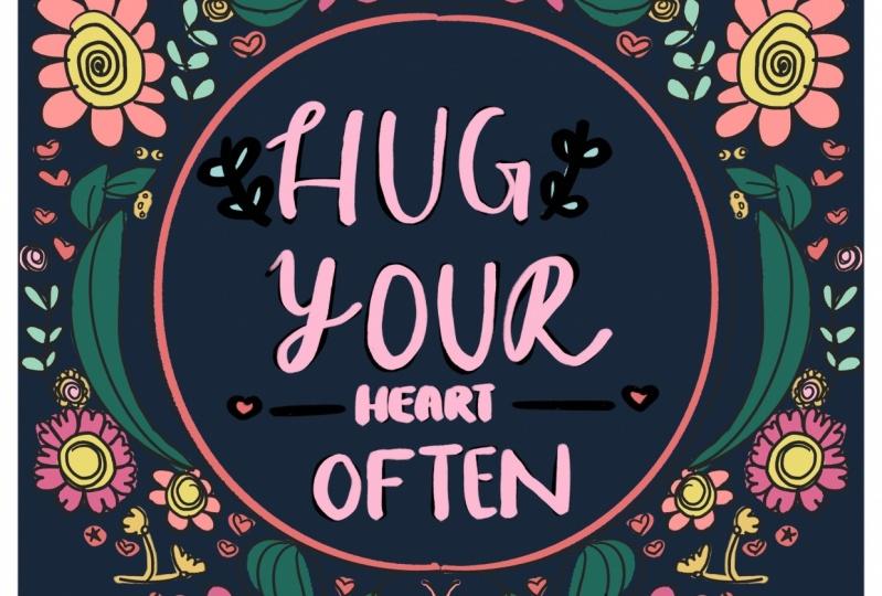 Hug hearts