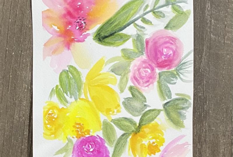 Dreamy Watercolors