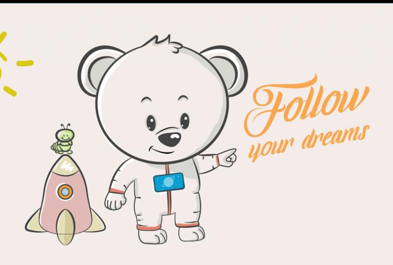 Follow your dreams illustration