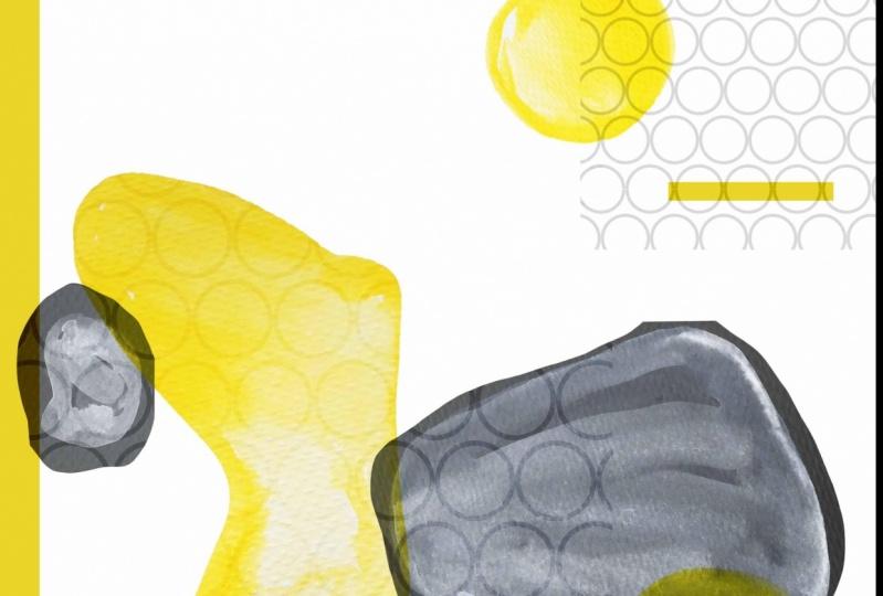 yellow n grey