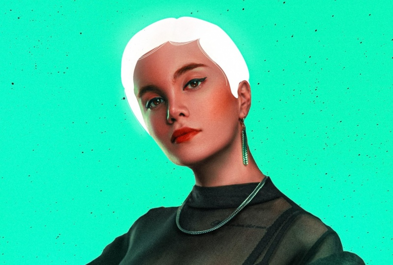 The Girl With White Hair