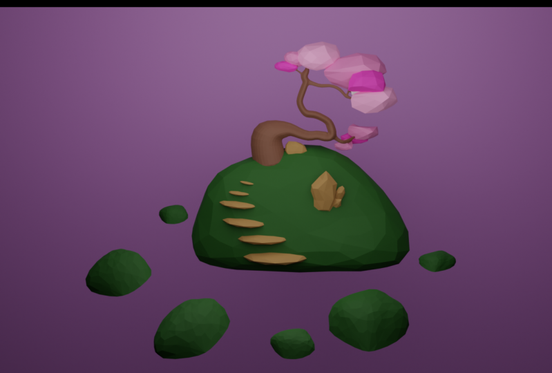 Low Poly Garden