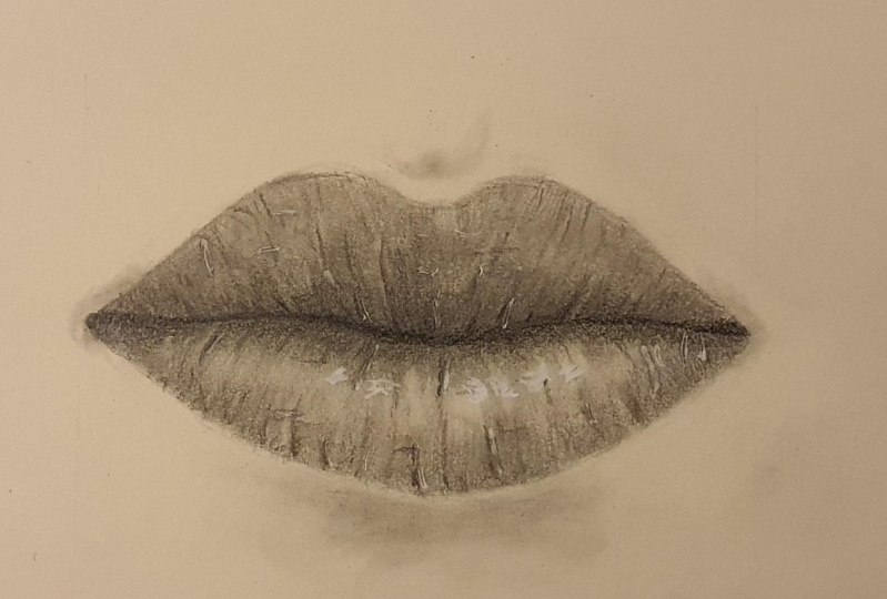 Mouth, glossy mouth and Kissing lips