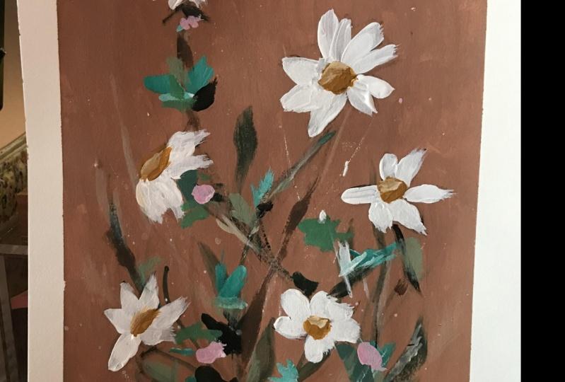 Expressive daisies