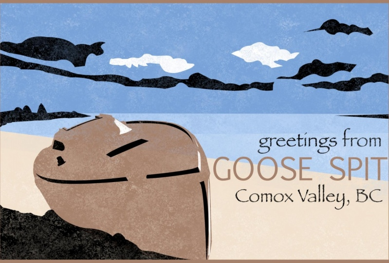 Comox Valley Postcard