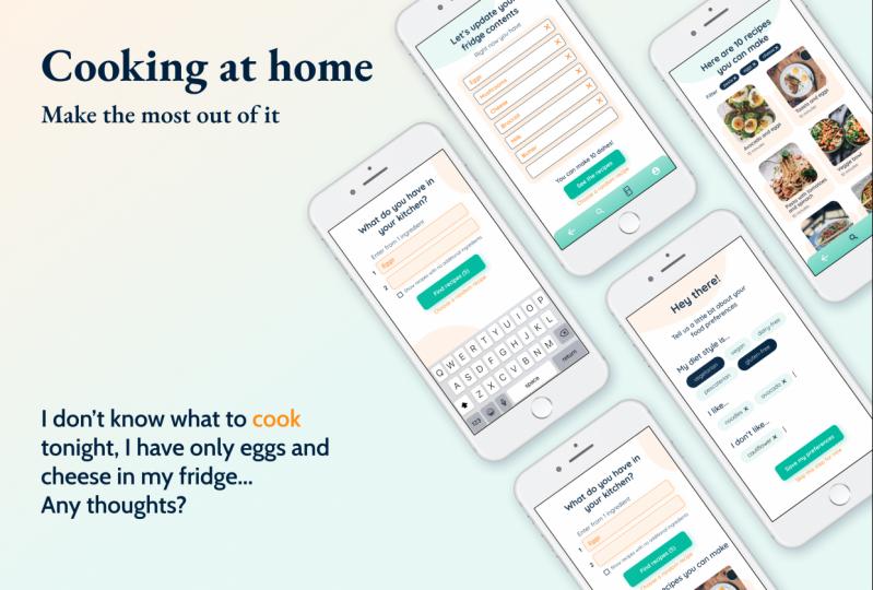 Recipe App - UX | UI Case Study