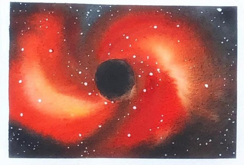 Watercolor Vortex