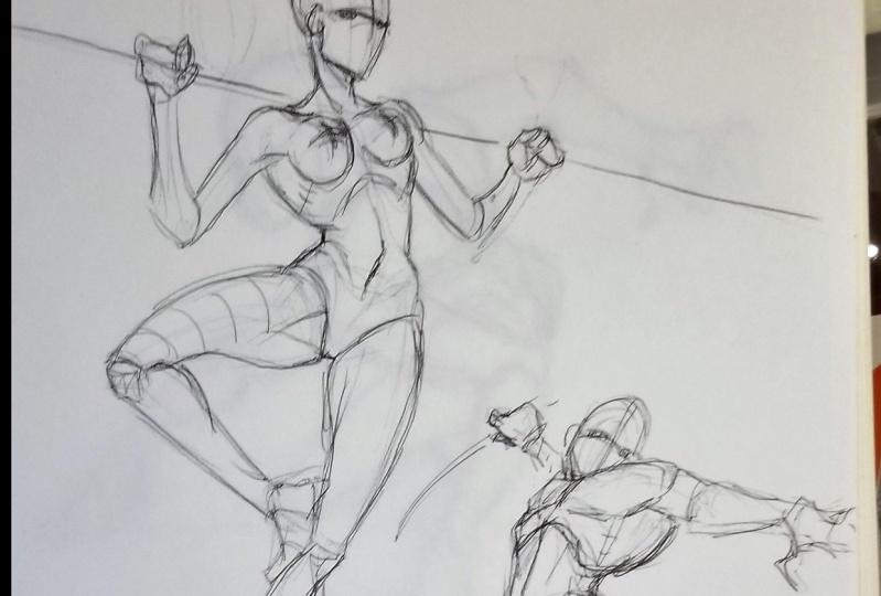 Dynamic Pose practice