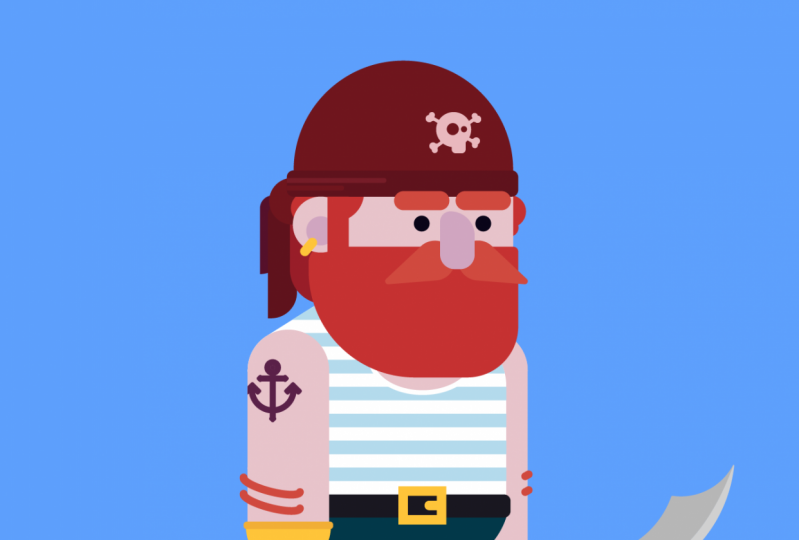 Character Design - Pirate