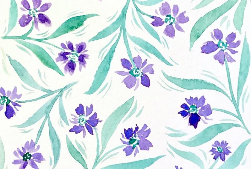 Meditative Watercolor Patterns