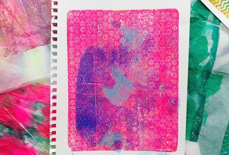 Elin's monoprints