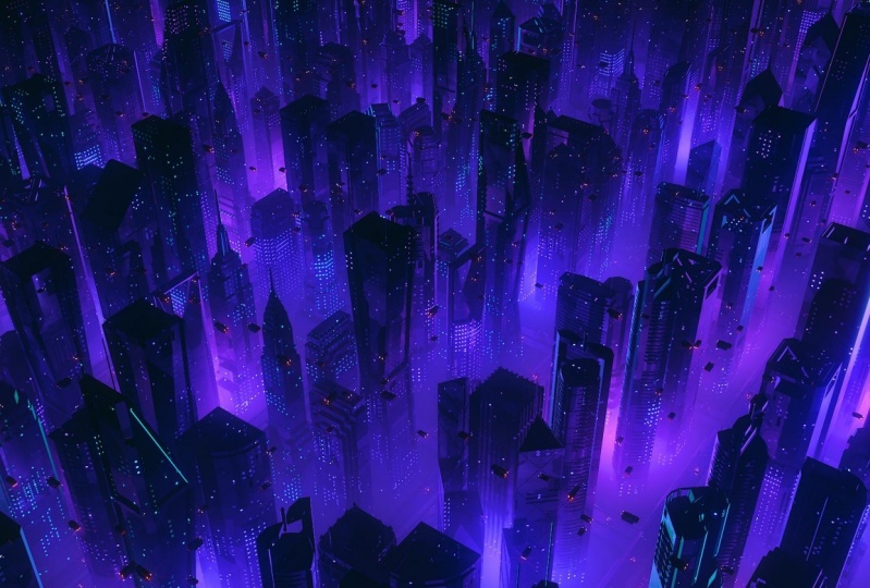 Cyberpunk Noir City