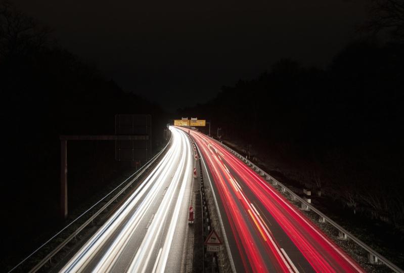 Cars long exposure