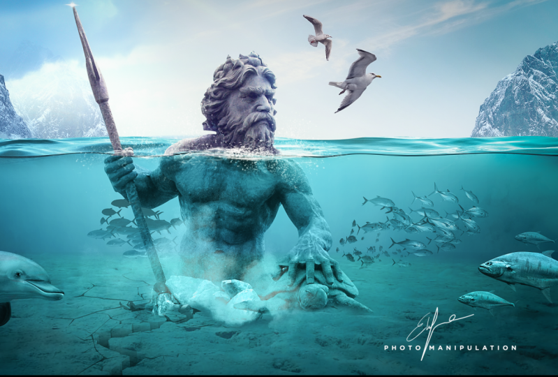 Poseidon Photo Manipulation