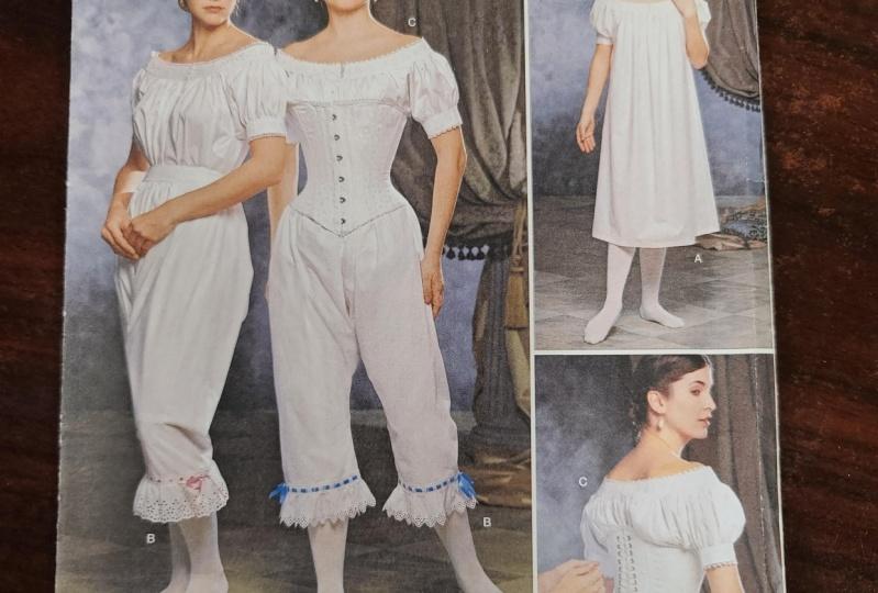 1890s victorian undergarments