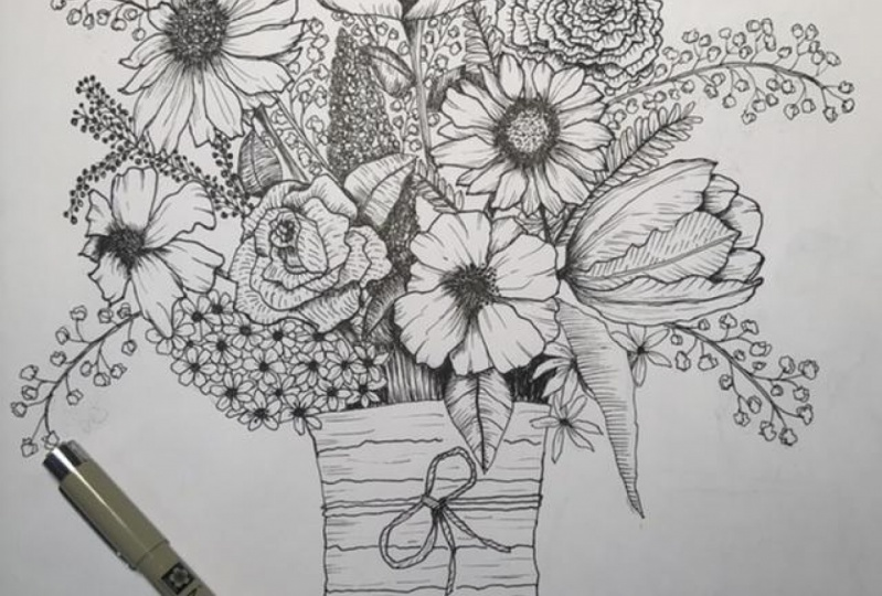 My first bouquet