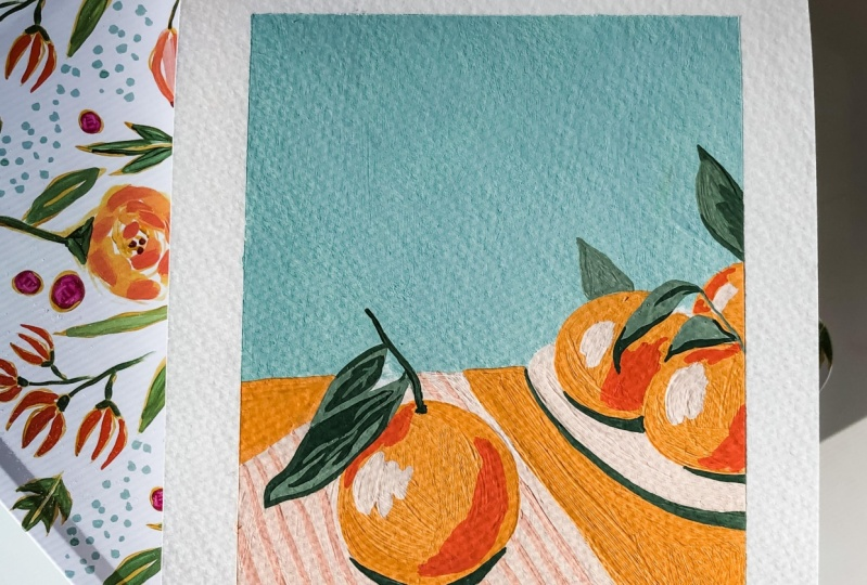 Cherries, clementines, and coffee, oh my!