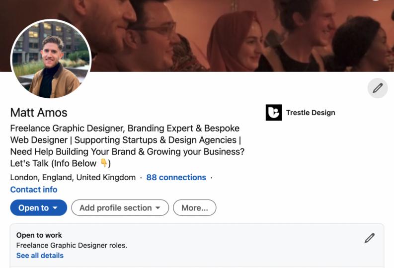 Matt Amos  Freelance Graphic Designer, Branding Expert & Bespoke Web Designer