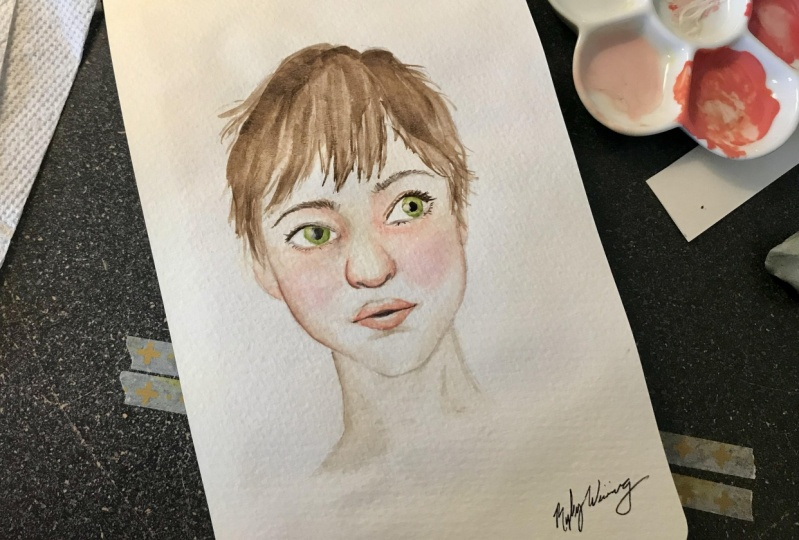 First attempt at a portrait