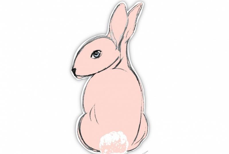 """""""Clyde"""" An Easter Sticker"""