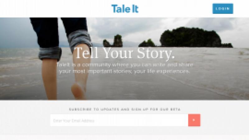 TaleIt: Social Storytelling website