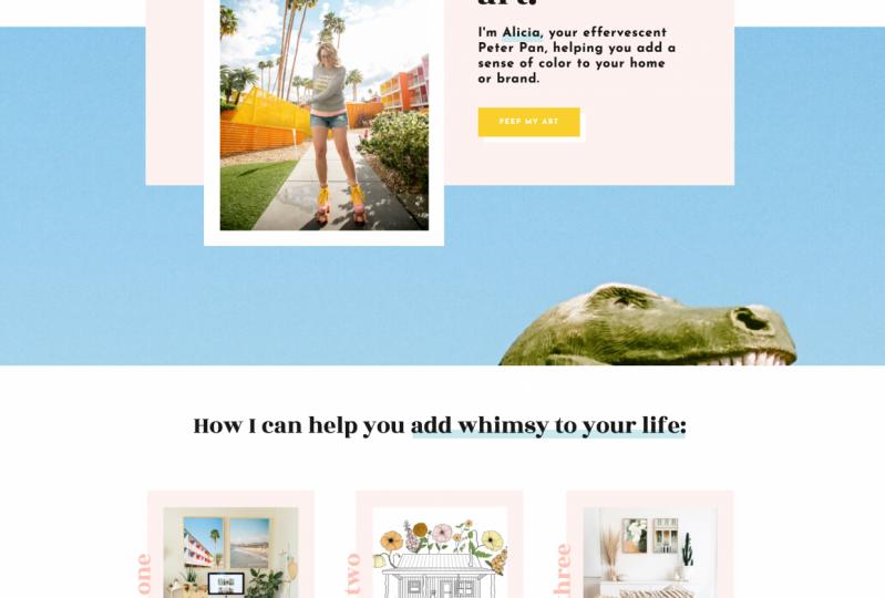My Illustration Portfolio Website!