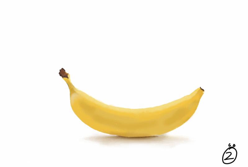 My first banana