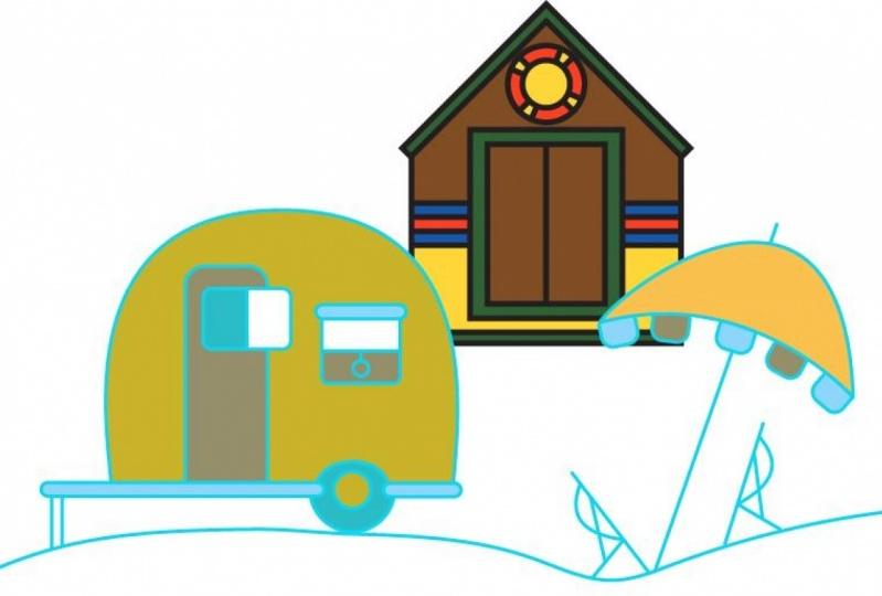 Cabin and Caravan