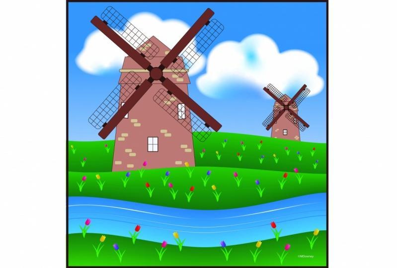 Windmill - Live Paint