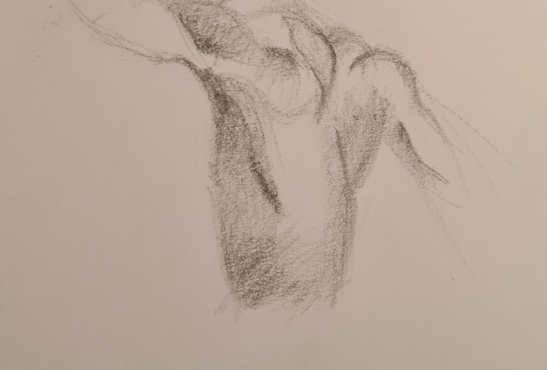 twisting pose