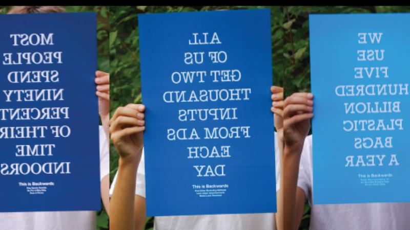 Backwards Poster Series
