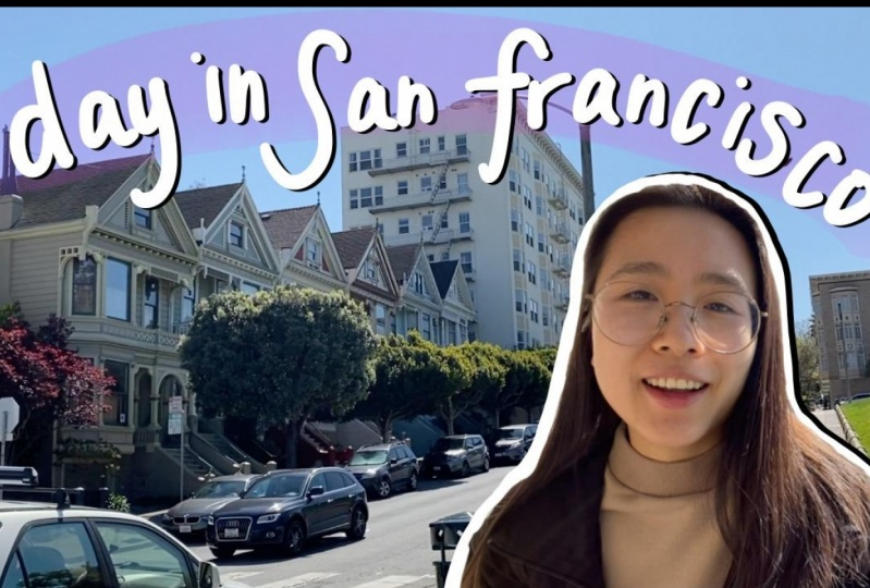 DAY IN SAN FRANCISCO | Painted Ladies, Picnic, Cooking