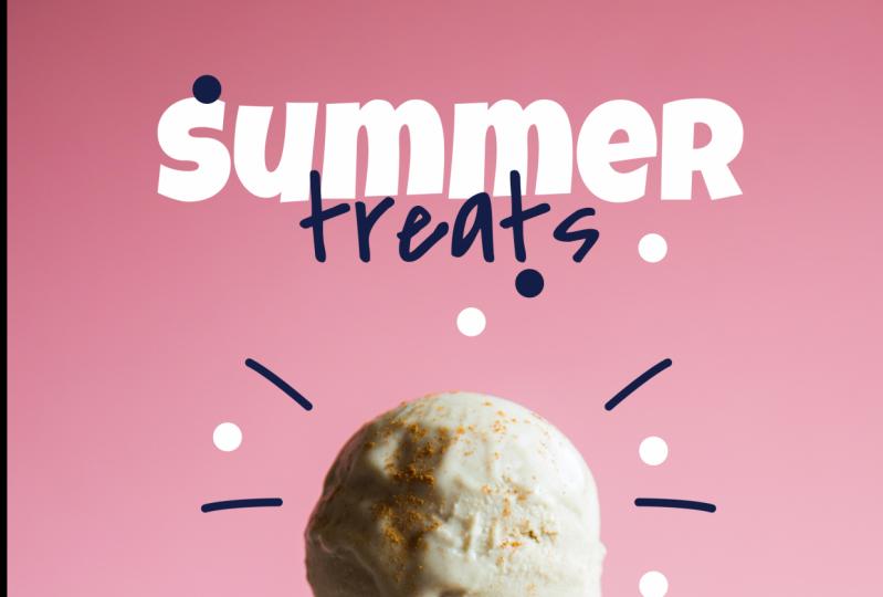 zoho ice creams & restaurent instagram ad posts