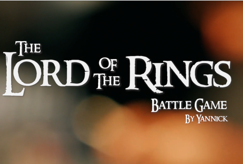 The Lord of the Rings Battle Game Interview with Yannick