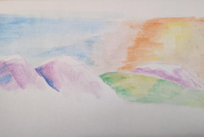 Beginner Watercolors Learning