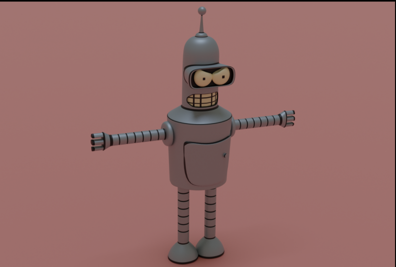 Bender in blender