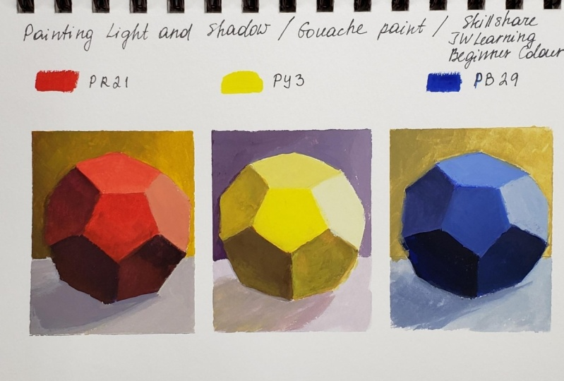 Beginner Colour/Color Theory