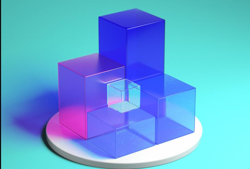 looping cubes