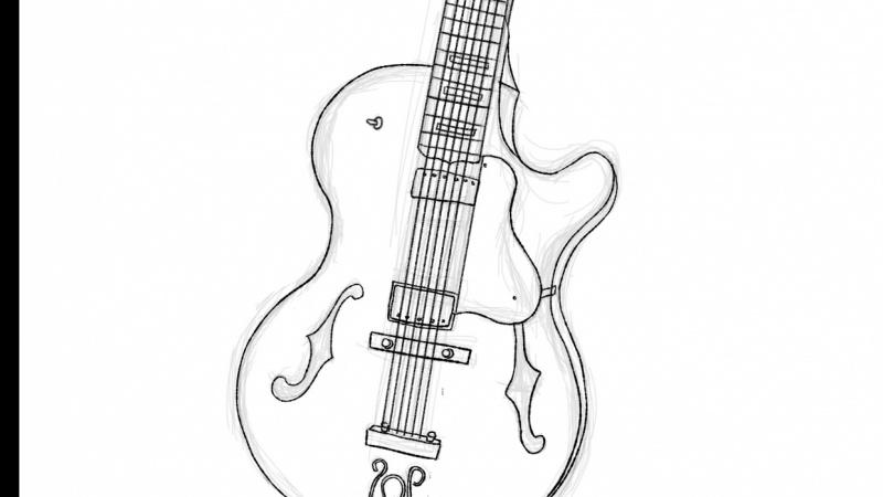 guitar ink
