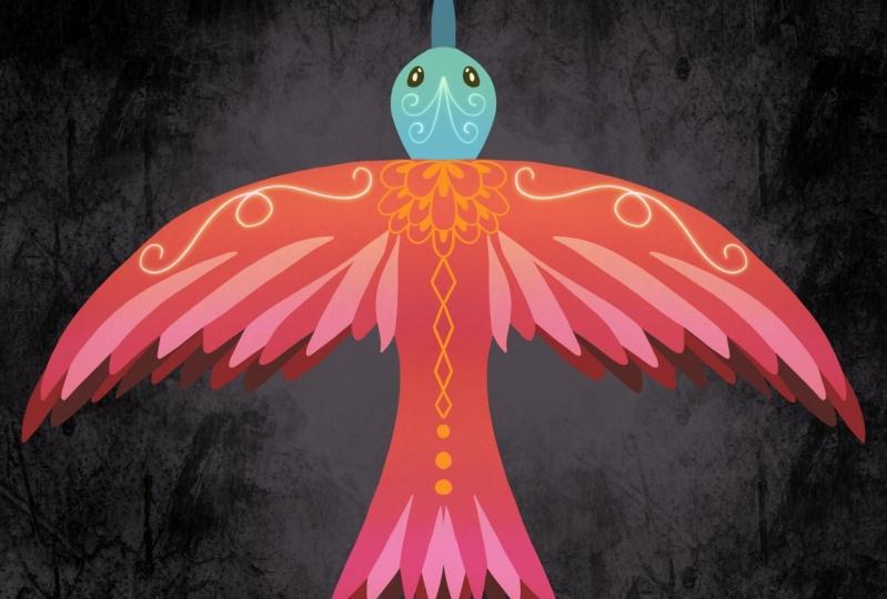 Symmetrical Bird