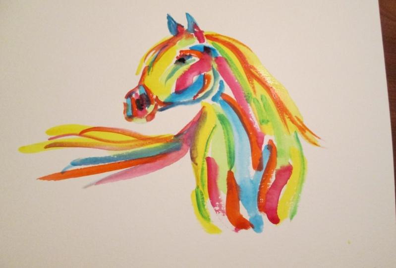 Vivid Watercolor Animals