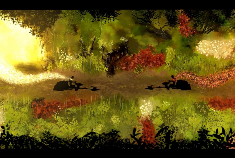Fantasy Landscape (Star Wars-Ezra Bridger)