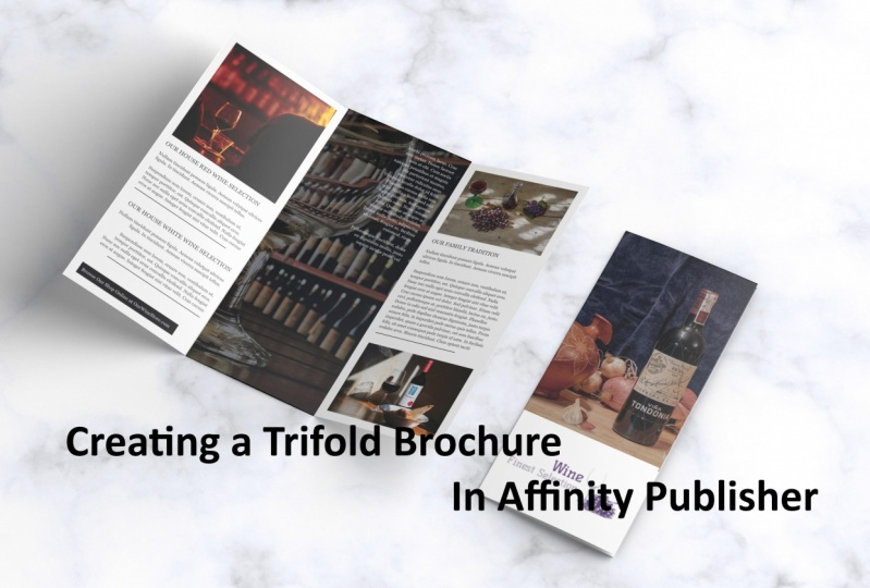 Creating a Trifold Brochure In Affinity Publisher