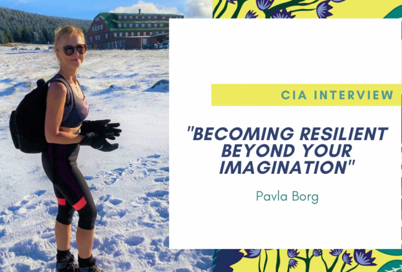 Pavla Borg: Becoming Resilient Beyond your Imagination (CIA Interview)